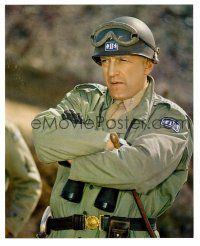 1m068 GEORGE C. SCOTT color 8x9.75 still '70 standing with arms crossed as General Patton!