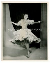 1m003 AUDREY HEPBURN English 8x10 still '52 c/u in ballerina costume as Nora from Secret People!