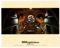 1m021 2001: A SPACE ODYSSEY color Cinerama English FOH LC '68 Keir Dullea & Gary Lockwood!