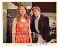 1m037 BLOW-UP color English FOH LC '67 Michelangelo Antonioni, David Hemmings w/sexy Sarah Miles!