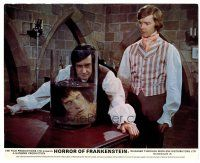 1m077 HORROR OF FRANKENSTEIN color English FOH LC '71 Hammer horror, cool head in a jar image!