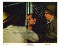 1m045 CHINATOWN 8x10 mini LC #2 '74 great image of Jack Nicholson & Roman Polanski w/knife!