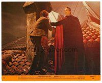 1m058 DRACULA HAS RISEN FROM THE GRAVE 8x10 mini LC #5 '69 Hammer, Christopher Lee in title role!