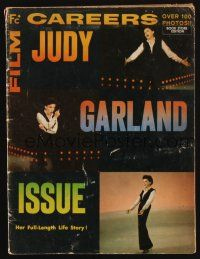 1p100 FILM CAREERS magazine '63 special Judy Garland issue, her full-length life story!