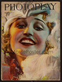 1p089 PHOTOPLAY magazine October 1921 great art of laughing Agnes Ayres by Rolf Armstrong!