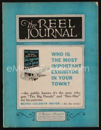 1p082 REEL JOURNAL exhibitor magazine August 13, 1927 MGM is the most important exhibitor in town!