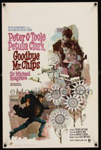 1r666 GOODBYE MR. CHIPS Belgian '70 Petula Clark, Ray art of teacher Peter O'Toole!
