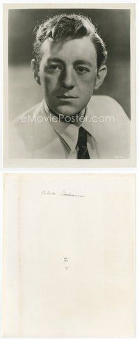 2a012 ALEC GUINNESS 8x10 still '55 young head & shoulders portrait of the great English actor!