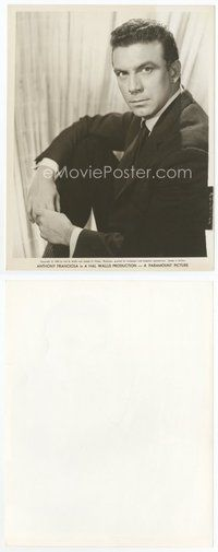 2a029 ANTHONY FRANCIOSA 8x10.25 still '59 close seated portrait of the actor in suit & tie!