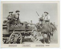 2a031 APACHE DRUMS 8x10.25 still '51 Stephen McNally & his men catch up to a wagon!