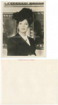 2a038 AVA GARDNER 8x10.25 still '69 c/u of the beautiful actress in feathered hat from Mayerling!
