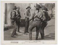 2a040 BANDIT KING OF TEXAS 8x10.25 still '49 five masked bad guys with guns up to no good!