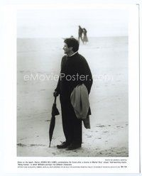 2a050 BEING HUMAN 8x10 still '93 Robin Williams standing full-length on the beach!