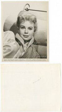 2a052 BETSY PALMER 8x10.25 still '59 head & shoulders smiling portrait of the pretty actress!