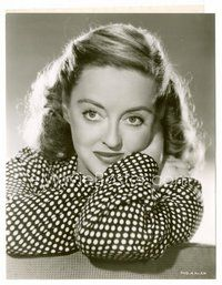2a053 BETTE DAVIS 7.5x9.5 still '51 glamor portrait, unlike how she appeared in Payment on Demand!