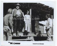 2a059 BIG COUNTRY TV 8.25x10 still R70s Chuck Connors, Burl Ives, Jean Simmons, Gregory Peck