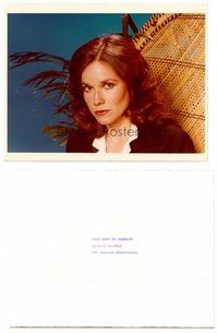 2a043 BARBARA HERSHEY TV color 8x10.25 still '80 starring as Karen Holmes in From Here to Eternity!