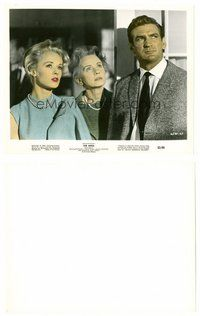2a065 BIRDS color 8x10 still '63 Tippi Hedren & Rod Taylor watching sky, Alfred Hitchcock!