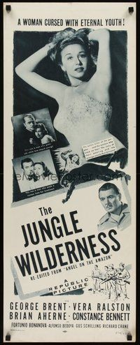 2d025 ANGEL ON THE AMAZON insert R54 sexy Vera Ralston, The Jungle Wilderness!