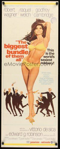 2d054 BIGGEST BUNDLE OF THEM ALL insert '68 full-length art of sexiest Raquel Welch by McGinnis!
