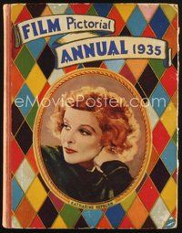 2e073 FILM PICTORIAL ANNUAL 1935 English hardcover book '35 Katharine Hepburn plus all top stars!
