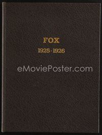2e071 FOX 1925-1926 studio yearbook '25 one of the most elaborate & beautiful campaign books!