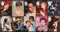 2e053 LOT OF 106 AMERICAN MOVIE CLASSICS MAGAZINES '92-01 full-color articles on the best stars!
