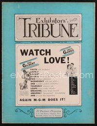 2e098 EXHIBITORS TRIBUNE exhibitor magazine December 10, 1927 watch Gilbert & Garbo in Love!