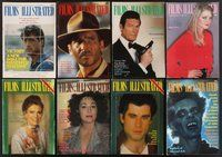 2e049 LOT OF 62 FILMS ILLUSTRATED MAGAZINES '76-82 the top stars of the late 1970s + classics!