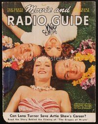 2e119 MOVIE & RADIO GUIDE magazine March 1940 Lamour, Crosby, Hope & Barrett in Road to Singapore!