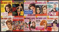 2e043 LOT OF 55 MOVIE LIFE MAGAZINES '62-66 all the top stars of the early to mid 1960s!