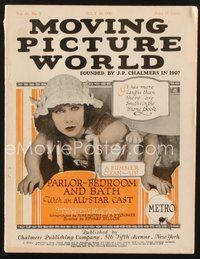 2e093 MOVING PICTURE WORLD exhibitor magazine July 10, 1920 Jack London, Trip to Mars, The Gumps!