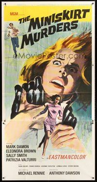 2f869 YOUNG THE EVIL  THE SAVAGE 3sh 68 Michael Rennie The Miniskirt Murders