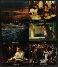 2g007 TITANIC 10 color 11x14 stills '97 Leonardo DiCaprio, Kate Winslet, directed by James Cameron!