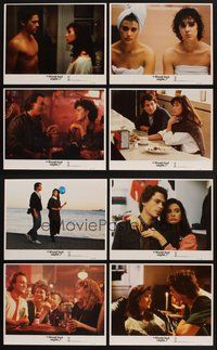 2g031 ABOUT LAST NIGHT 8 LCs '86 Rob Lowe, Demi Moore, James Belushi, Elizabeth Perkins!
