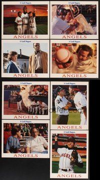 2g062 ANGELS IN THE OUTFIELD 8 int'l LCs '94 Disney, Christopher Lloyd, Danny Glover, baseball!