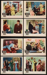 2g076 AUNTIE MAME 8 LCs '58 classic Rosalind Russell family comedy from play and novel!