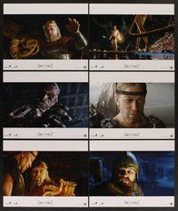 2g003 BEOWULF 10 LCs '07 Robert Zemeckis directed, Anthony Hopkins, Robin Wright!