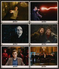 2g005 HARRY POTTER & THE ORDER OF THE PHOENIX 10 LCs '07 David Yates, creepy Ralph Fiennes!