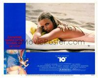 2j004 '10' LC #2 '79 Blake Edwards, sexiest close up of Bo Derek with cornrows on beach!
