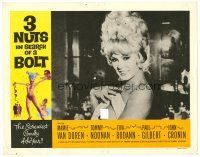 2j009 3 NUTS IN SEARCH OF A BOLT LC '64 close up of sexy Mamie Van Doren removing her top!