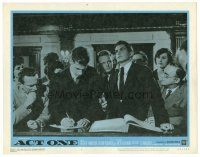 2j025 ACT ONE LC #4 '64 crowd gathers around handsome George Hamilton as Moss Hart!