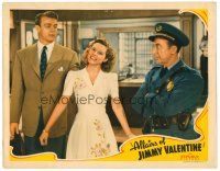 2j029 AFFAIRS OF JIMMY VALENTINE LC '42 Roscoe Ates watches Dennis O'Keefe grab Ruth Terry's ear!