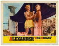 2j032 ALEXANDER THE GREAT LC #2 R60 close up of barechested Richard Burton w/ pretty Claire Bloom!