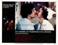2j039 AMERICAN WEREWOLF IN LONDON LC #7 '81 David Naughton about to kiss nurse Jenny Agutter!