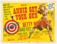 2j046 ANNIE GET YOUR GUN TC '50 Betty Hutton as the greatest sharpshooter, Howard Keel