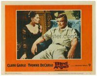 2j065 BAND OF ANGELS LC #4 '57 Clark Gable & his beautiful slave mistress Yvonne De Carlo!