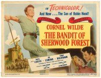 2j067 BANDIT OF SHERWOOD FOREST TC '45 full-length image of Cornel Wilde in the title role!