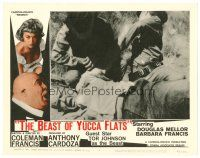 2j075 BEAST OF YUCCA FLATS LC #2 '62 cheesy horror, wrestler Tor Johnson in dual role!