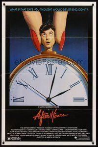 2p020 AFTER HOURS style B 1sh '85 Martin Scorsese, Rosanna Arquette, great art by Mattelson!